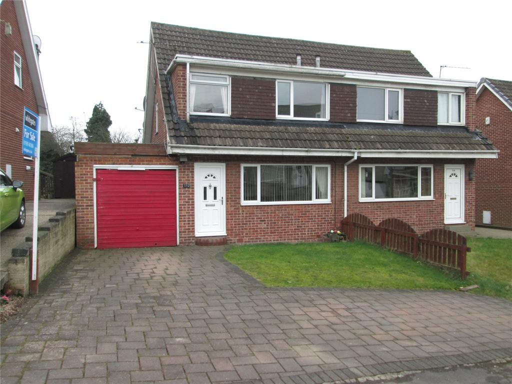 3 Bedrooms Semi Detached House for sale in Quarry Lane, North Anston, Sheffield, South Yorkshire, S25
