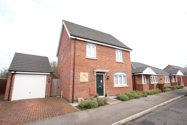 3 Bedrooms Detached House for sale in Flint Drive, Asfordby, Melton Mowbray, LE14