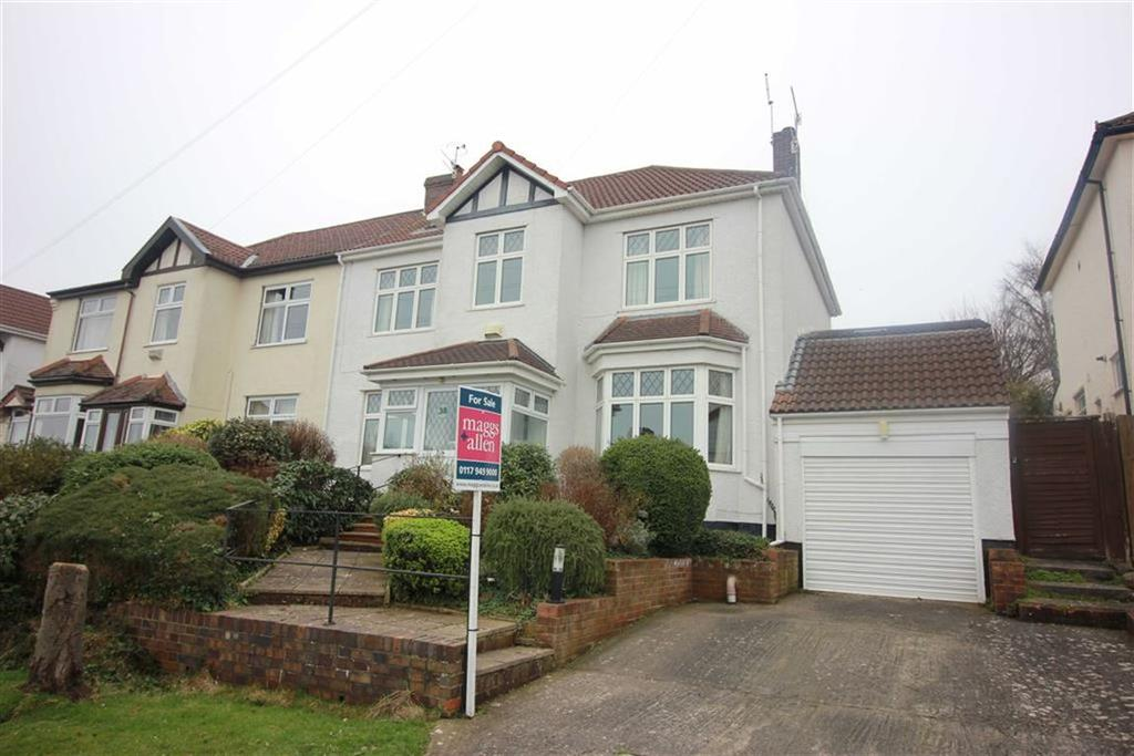 5 Bedrooms Semi Detached House for sale in Hill View, Henleaze, Bristol
