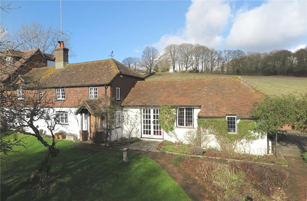 4 Bedrooms Semi Detached House for sale in Bealeswood Lane, Dockenfield, Farnham, Surrey, GU10