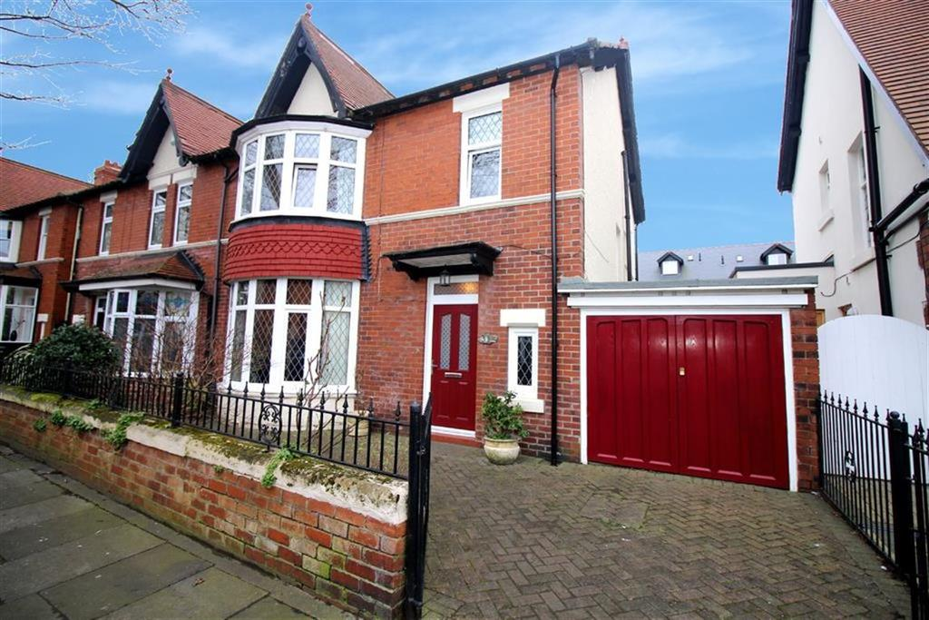 4 Bedrooms Semi Detached House for sale in Queens Drive, Whitley Bay