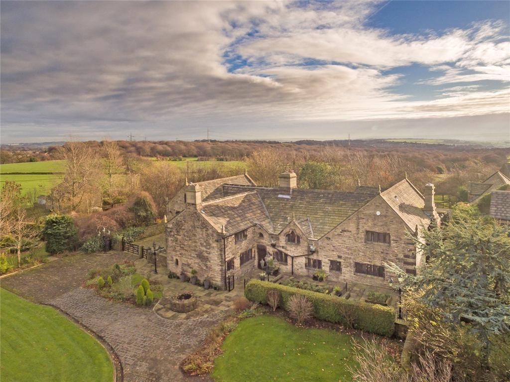 5 Bedrooms Unique Property for sale in High Bentley, Halifax, West Yorkshire, HX3