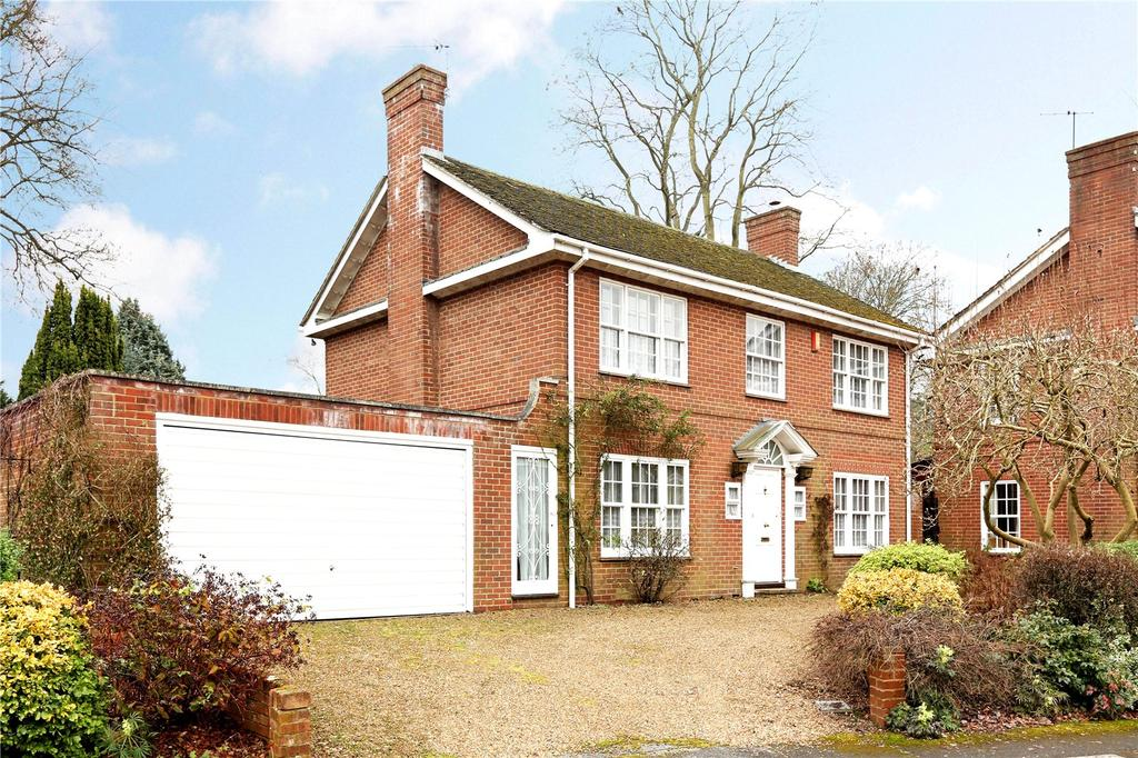 4 Bedrooms Detached House for sale in Leicester Close, Henley-on-Thames, Oxfordshire, RG9