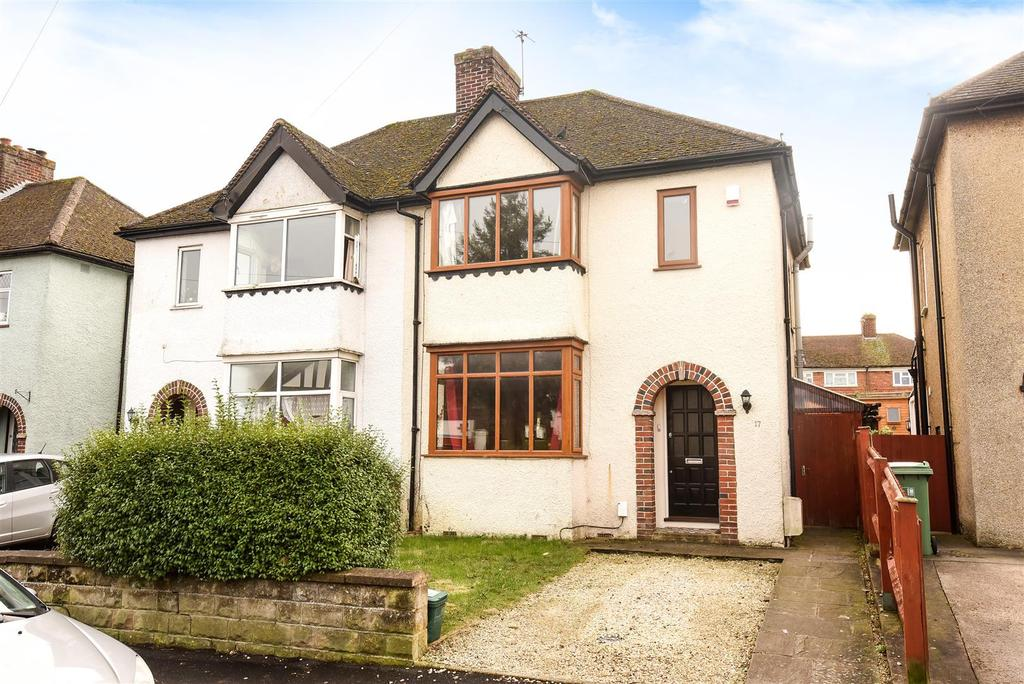 3 Bedrooms Semi Detached House for sale in Courtland Road, Iffley Borders