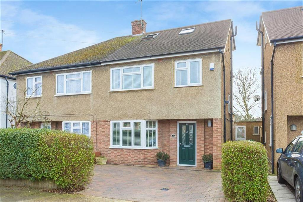 4 Bedrooms Semi Detached House for sale in Oxford Drive, Ruislip, Middlesex