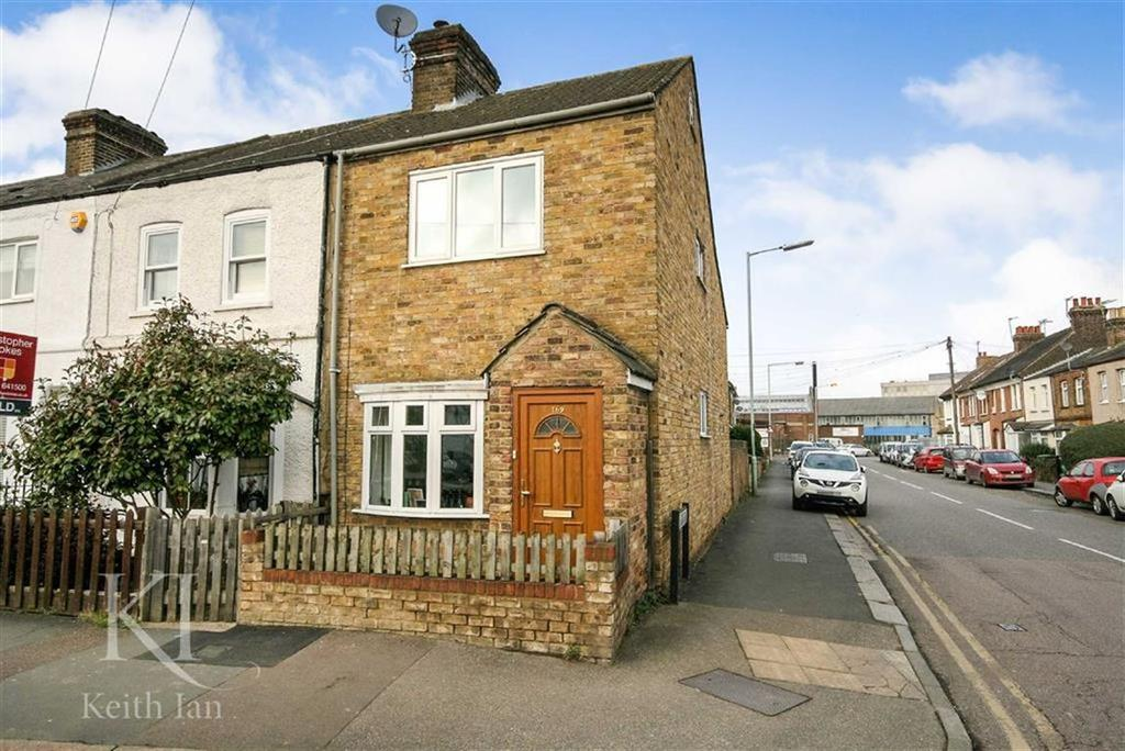 2 Bedrooms End Of Terrace House for sale in Windmill Lane, Cheshunt