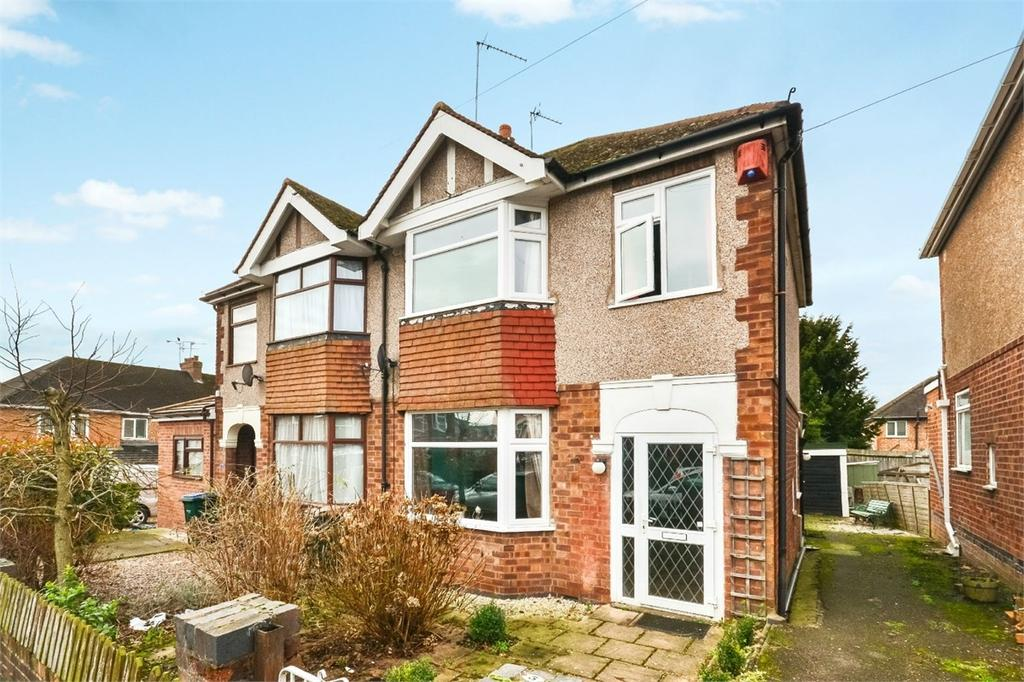 3 Bedrooms Semi Detached House for sale in Cornelius Street, Cheylesmore, COVENTRY, West Midlands