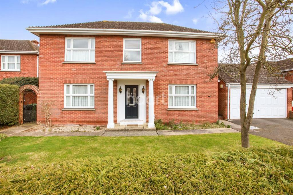 4 Bedrooms Detached House for sale in Chippingdell, Witham, CM8