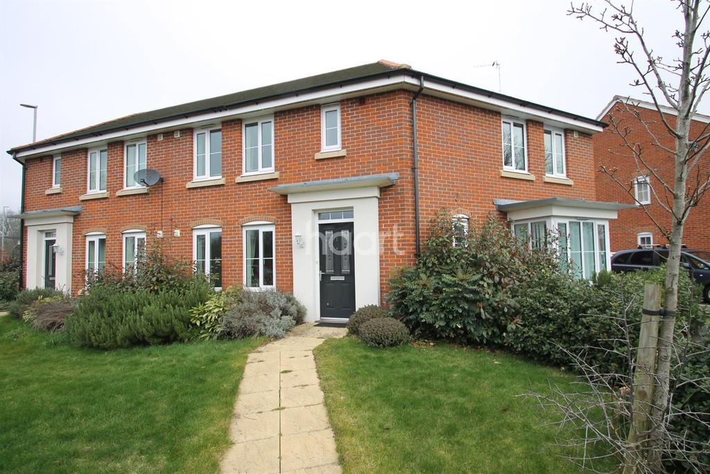 3 Bedrooms End Of Terrace House for sale in The Sidings