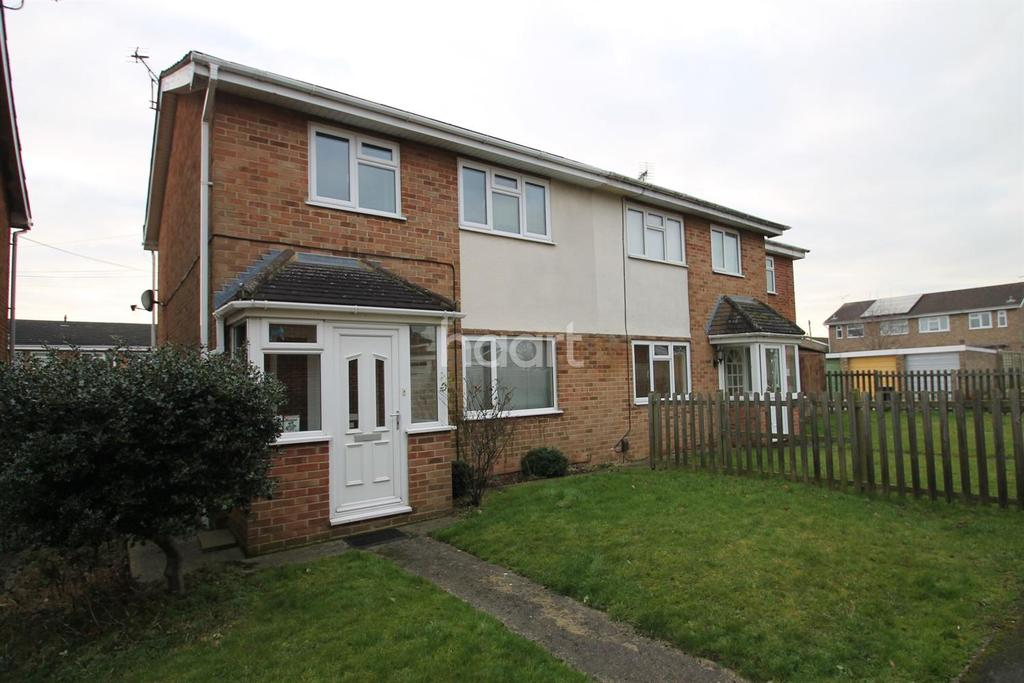 3 Bedrooms Semi Detached House for sale in Hathaway Road, Swindon