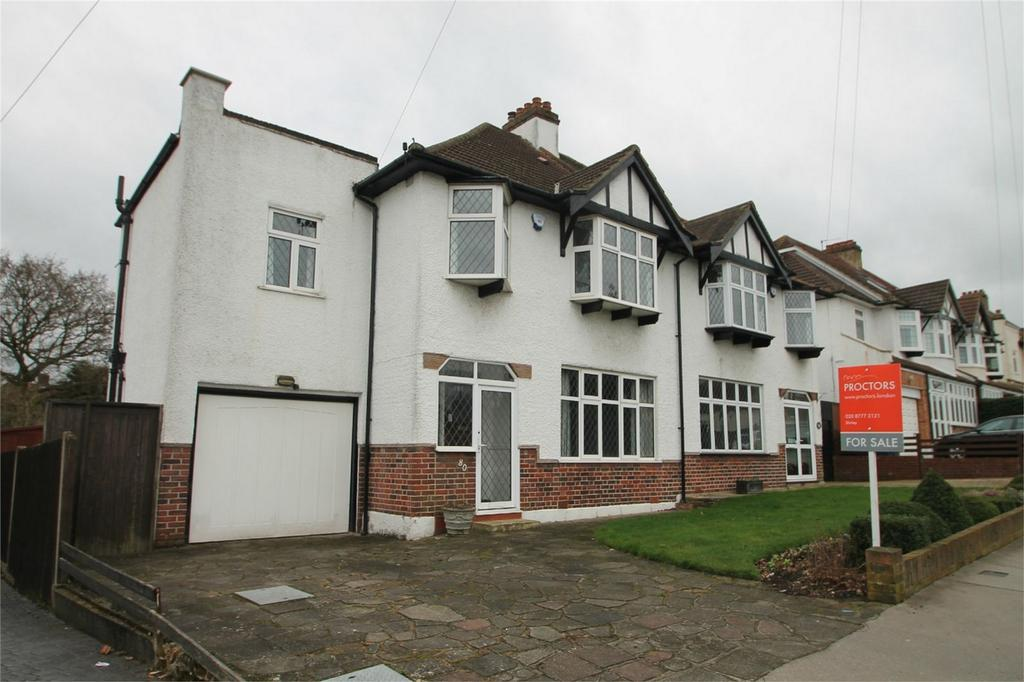 4 Bedrooms Semi Detached House for sale in Devonshire Way, Shirley, Croydon, Surrey