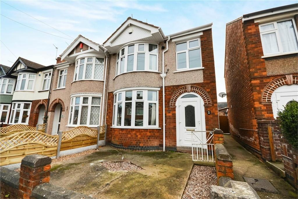 3 Bedrooms End Of Terrace House for sale in Kelvin Avenue, Wyken, COVENTRY, West Midlands