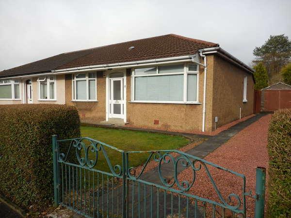 2 Bedrooms Semi Detached Bungalow for sale in 10 Monreith Avenue, Bearsden, Glasgow, G61 1NL