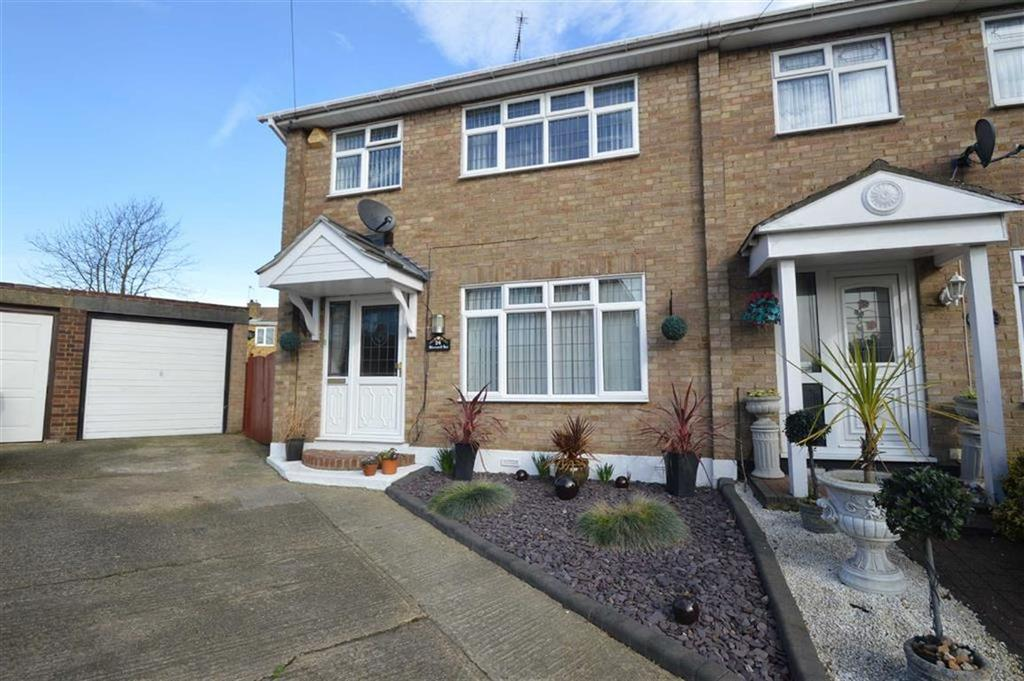 3 Bedrooms End Of Terrace House for sale in Glenwood Avenue, Hawkwell, Essex