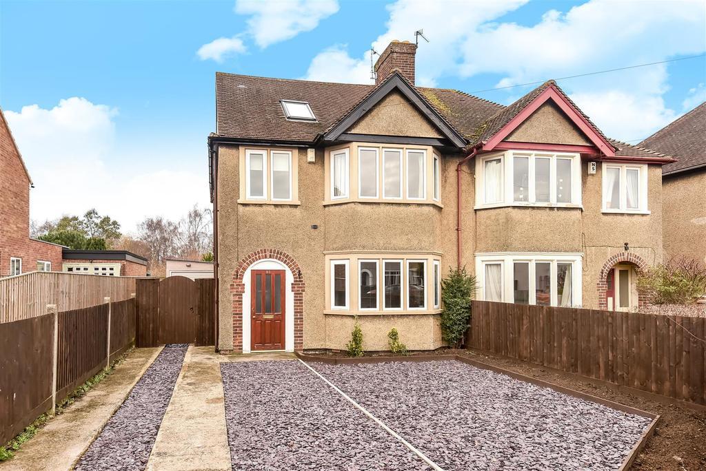 4 Bedrooms Semi Detached House for sale in St. Leonards Road, Headington
