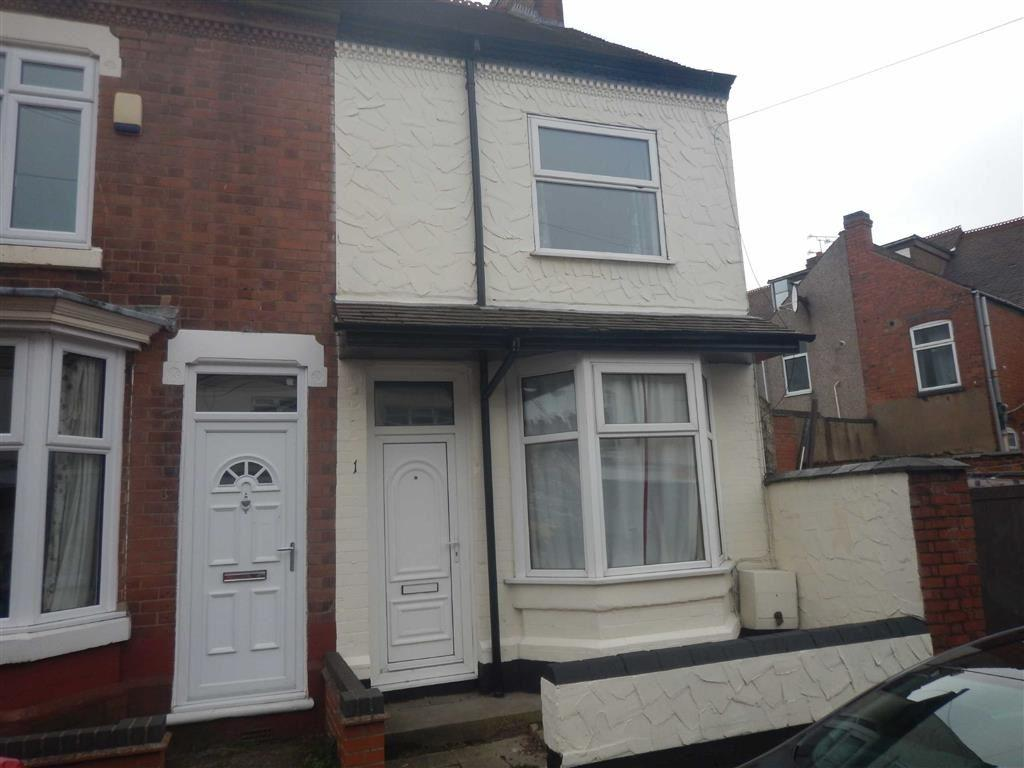 2 Bedrooms End Of Terrace House for sale in Eadie Street, Nuneaton, Warwickshire, CV10