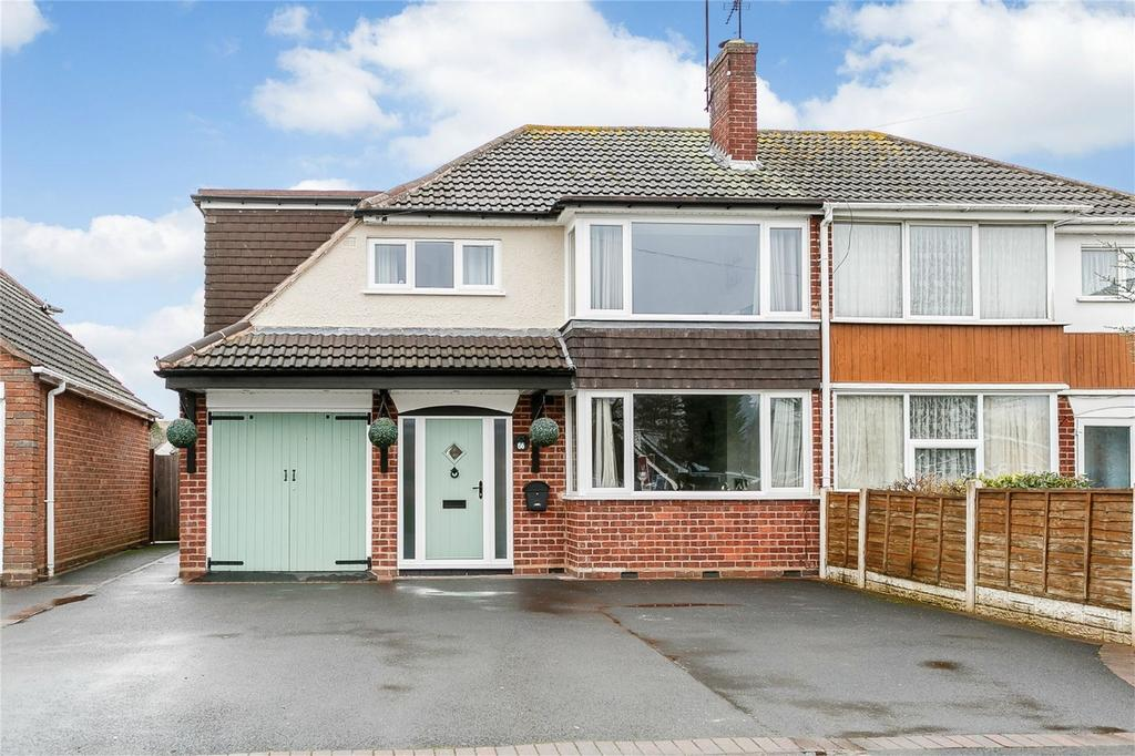 4 Bedrooms Semi Detached House for sale in Windermere Way, Stourport-on-Severn, Worcestershire