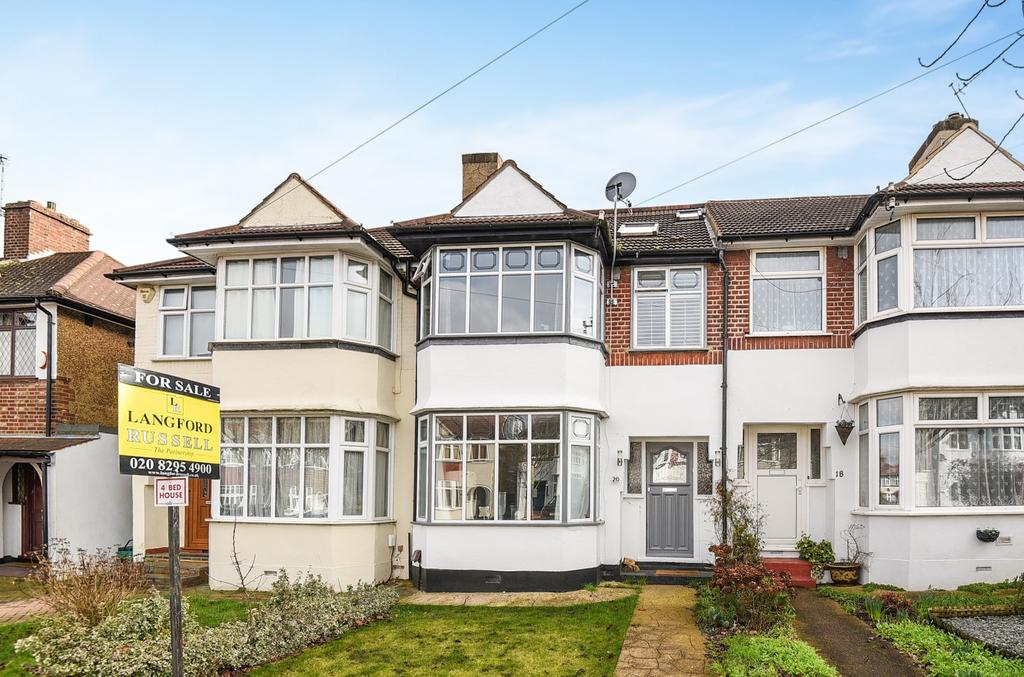 4 Bedrooms Terraced House for sale in Holmdale Road Chislehurst BR7