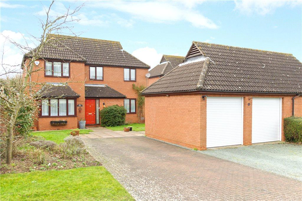 4 Bedrooms Detached House for sale in Runnymede, Giffard Park, Milton Keynes