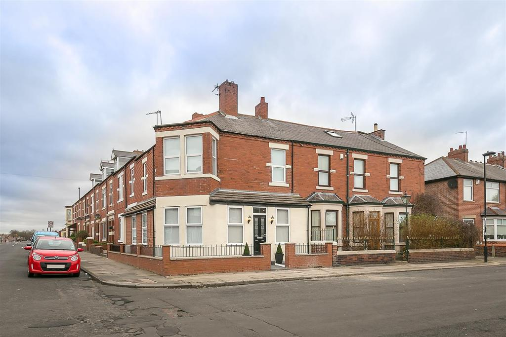 3 Bedrooms End Of Terrace House for sale in Windermere Terrace, North Shields