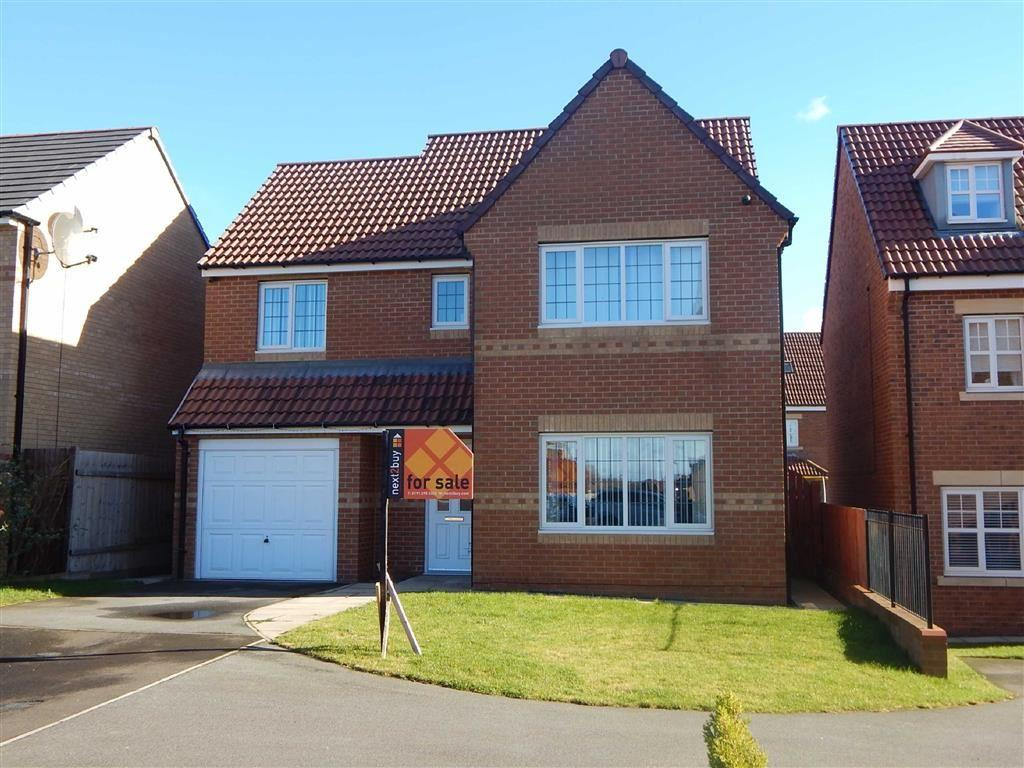 4 Bedrooms Detached House for sale in Cawfields Close, Hadrian Village, Wallsend, NE28