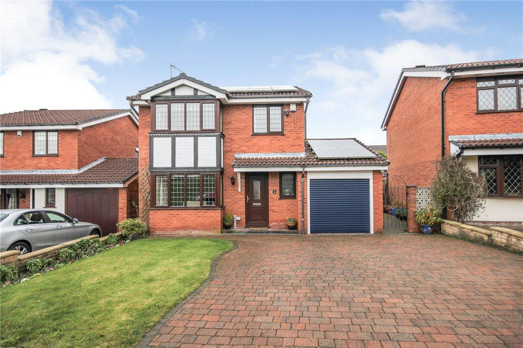 4 Bedrooms Detached House for sale in Lythwood Drive, Brierley Hill, West Midlands, DY5