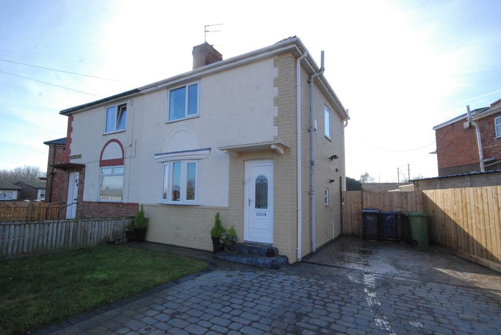 2 Bedrooms Semi Detached House for sale in Wark Crescent, Jarrow