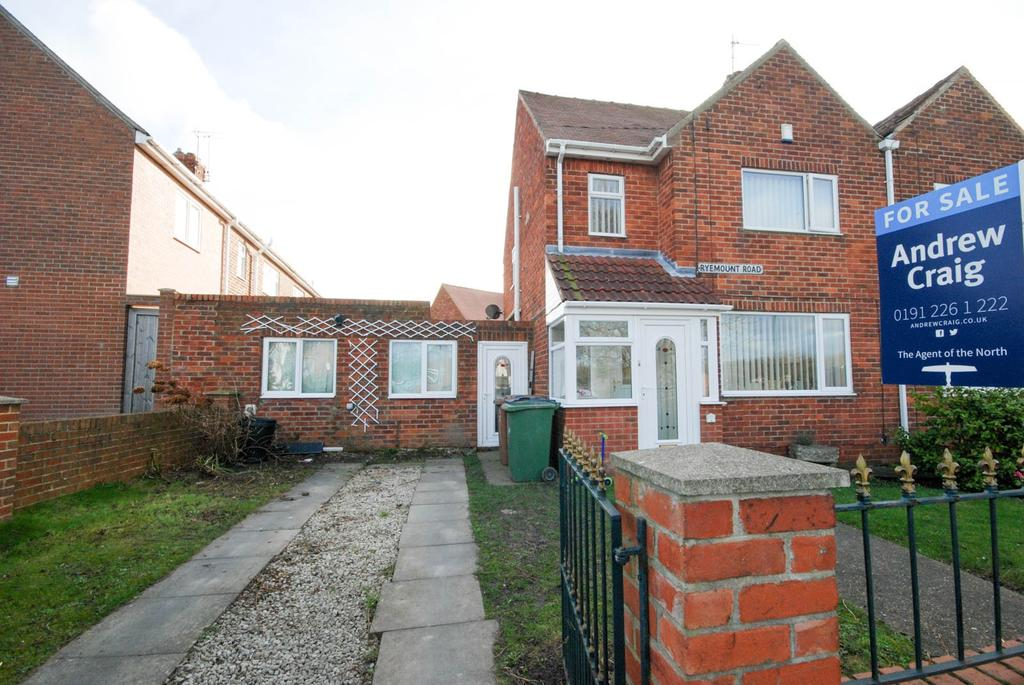 3 Bedrooms Semi Detached House for sale in Ryemount Road, Ryhope