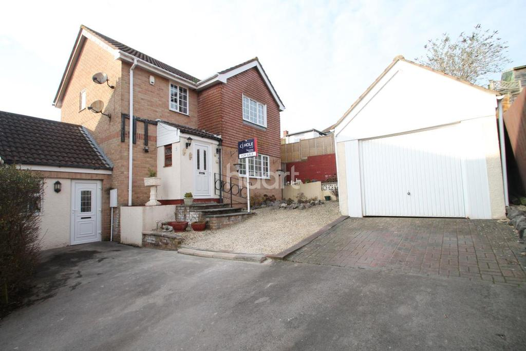 3 Bedrooms Detached House for sale in Fraser Close, Worle