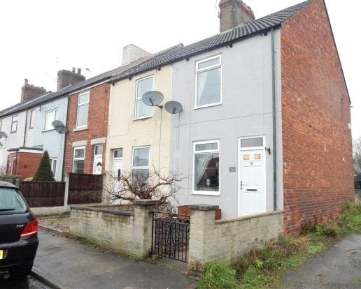 3 Bedrooms End Of Terrace House for sale in Sandy Lane, Worksop, Nottinghamshire, S80