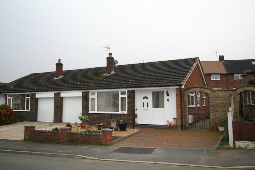 3 Bedrooms Semi Detached Bungalow for sale in Elwyn Drive, Marchwiel, Wrexham, LL13