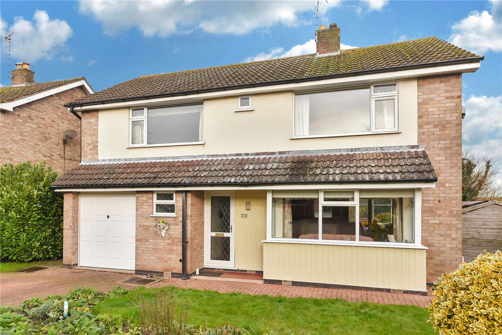 4 Bedrooms Detached House for sale in Hollytree Close, Hoton, Loughborough
