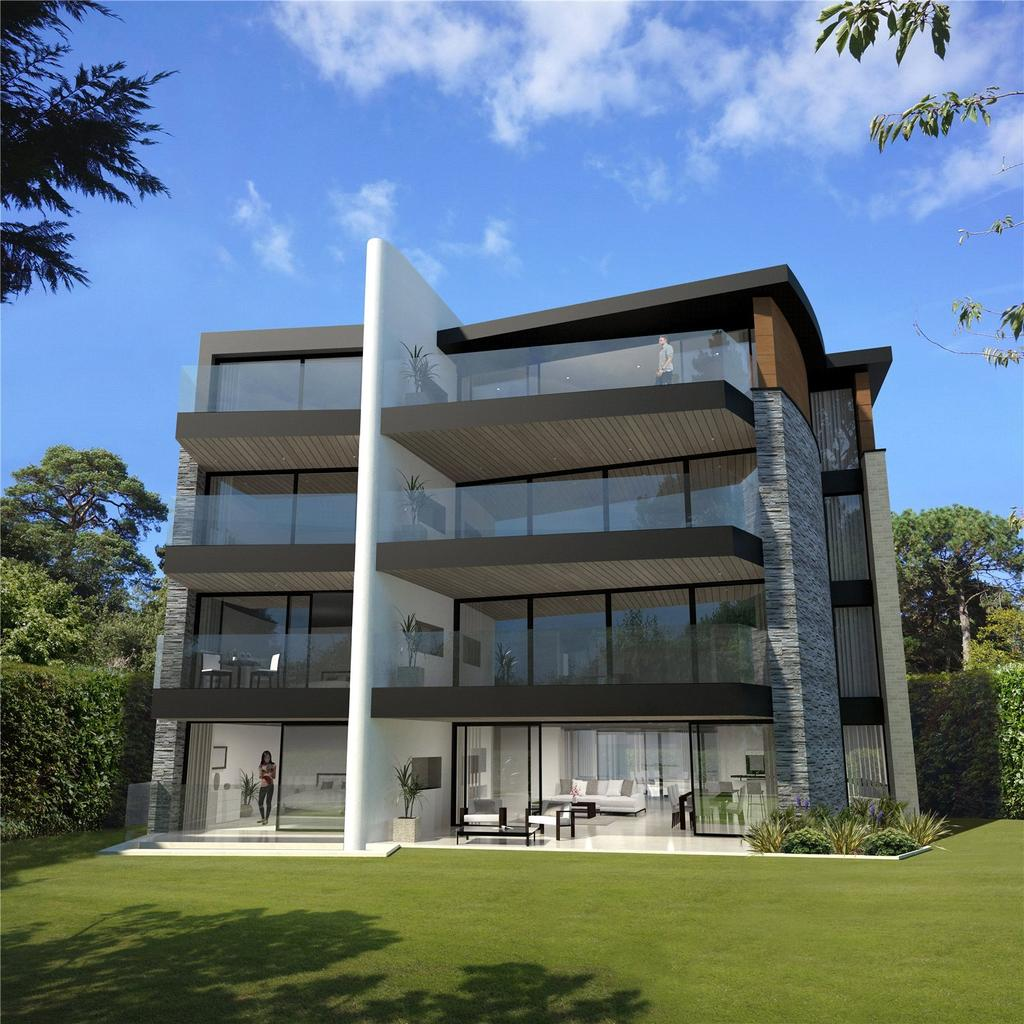 3 Bedrooms Penthouse Flat for sale in Martello Park, Canford Cliffs, Poole, Dorset, BH13