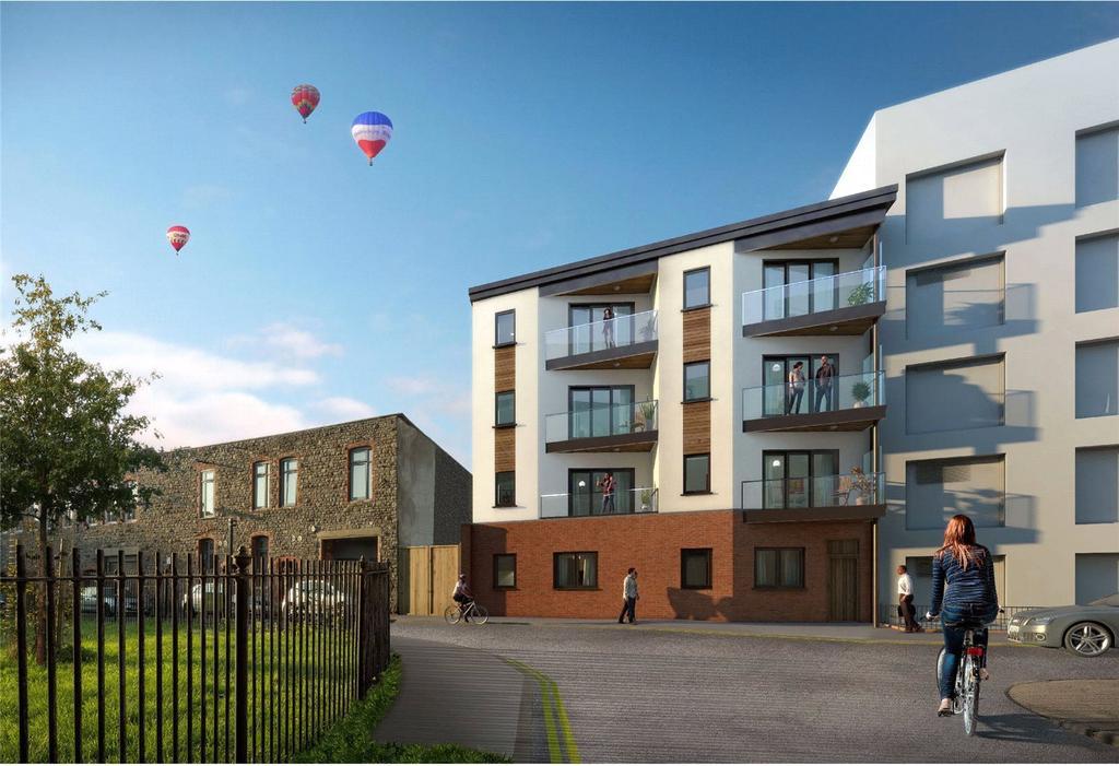 1 Bedroom Flat for sale in Brassworks Lofts, 3 Braggs Lane, Bristol, BS2