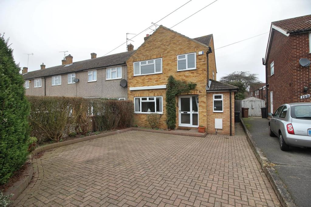 3 Bedrooms End Of Terrace House for sale in Lucas Avenue, Moulsham Lodge, Chelmsford, Essex, CM2