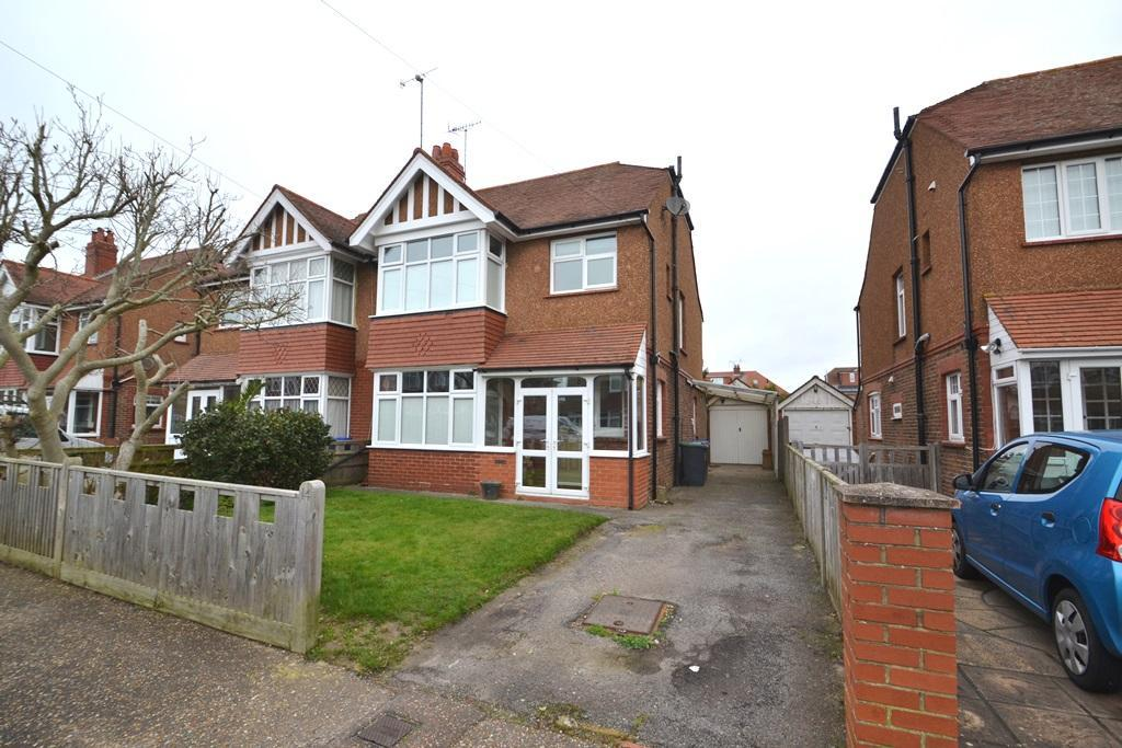 3 Bedrooms Semi Detached House for sale in Woodmancote Road, Worthing, West Sussex, BN14 7HT