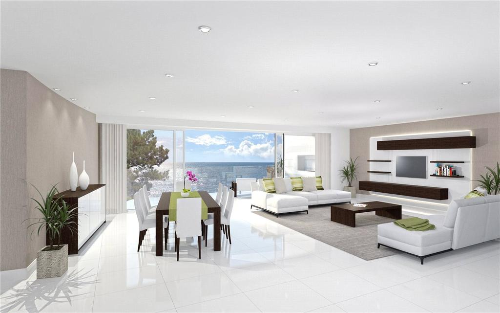 3 Bedrooms Penthouse Flat for sale in The Lookout, Martello Park, Canford Cliffs, Poole, BH13