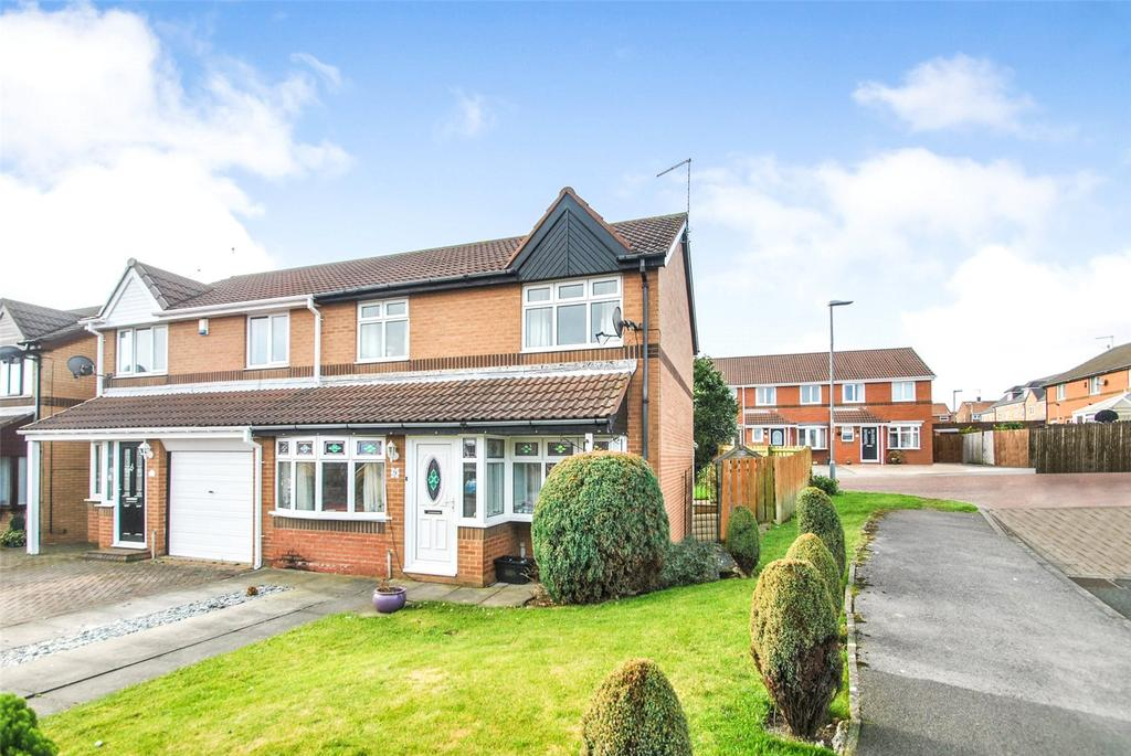 3 Bedrooms Semi Detached House for sale in Tintagel Drive, Seaham, Co. Durham, SR7