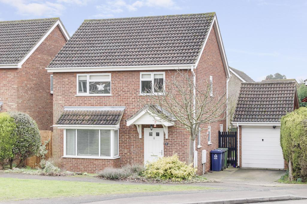 4 Bedrooms Detached House for sale in Otter Way, Eaton Socon