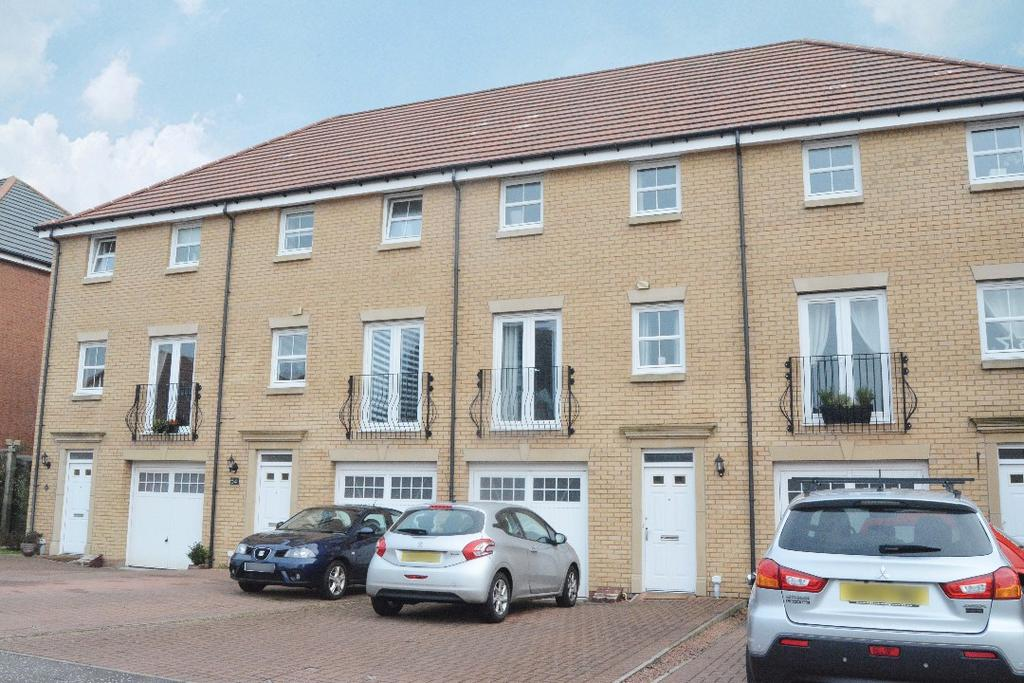 4 Bedrooms Terraced House for sale in Mellock Crescent, Maddiston, Falkirk, FK2 0RH