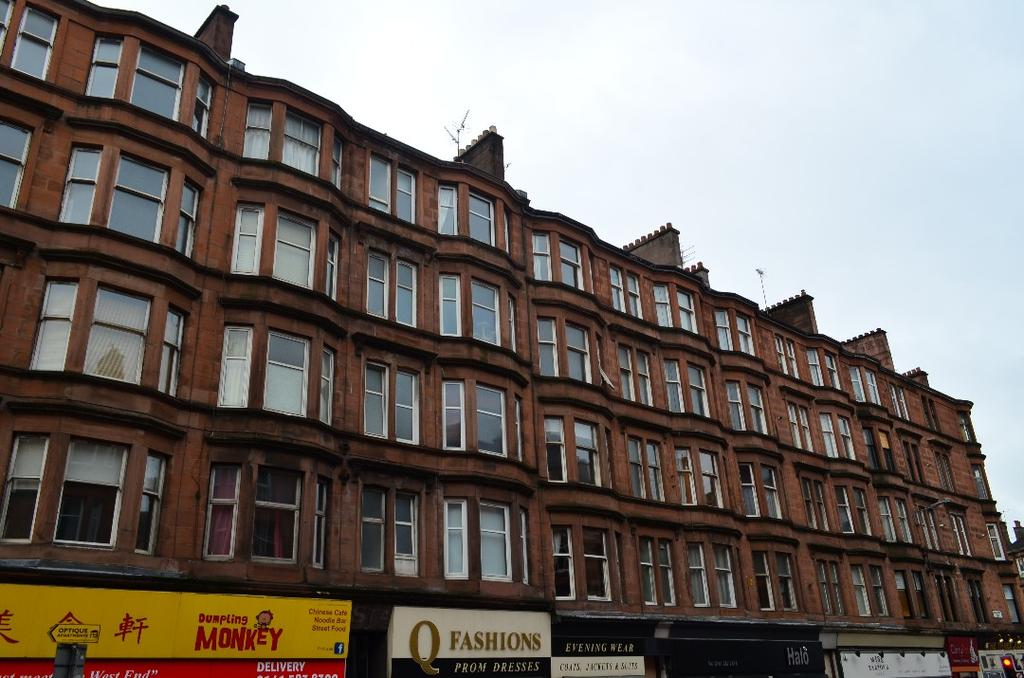 1 Bedroom Flat for sale in Dumbarton Road, Flat 4/2, Partick, Glasgow, G11 6PR