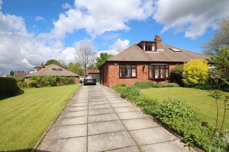 3 Bedrooms Semi Detached Bungalow for sale in Powicke Drive, Romiley