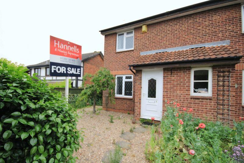 2 Bedrooms Semi Detached House for sale in THORESBY CLOSE, OAKWOOD