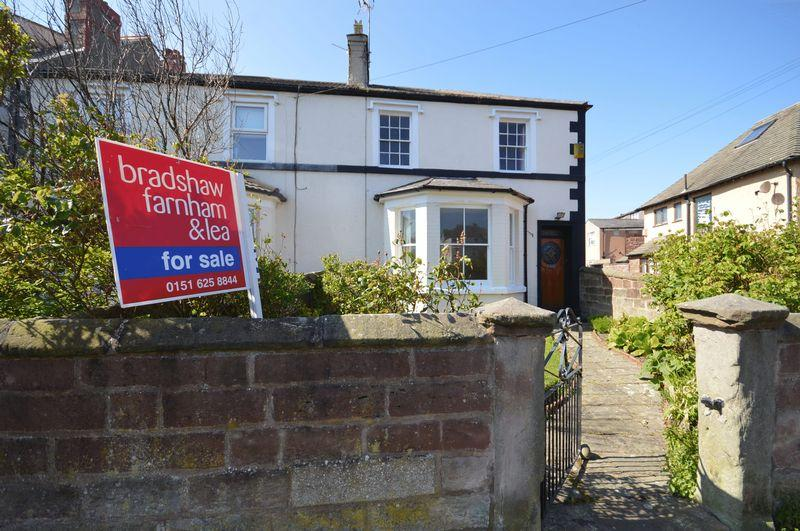 4 Bedrooms End Of Terrace House for sale in Trinity Road, Hoylake