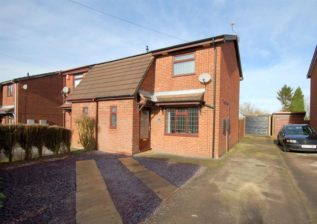 2 Bedrooms Semi Detached House for sale in Gloucester Road, Kidsgrove
