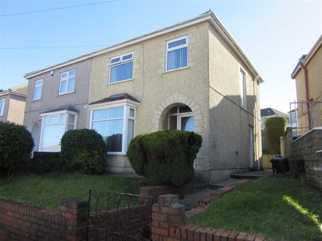 3 Bedrooms Semi Detached House for sale in Glenroy Avenue, Swansea, SA1