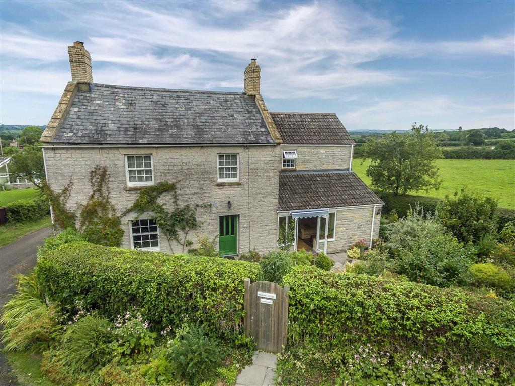 5 Bedrooms Detached House for sale in Peacocks Hill, Barton St David, Somerset, TA11