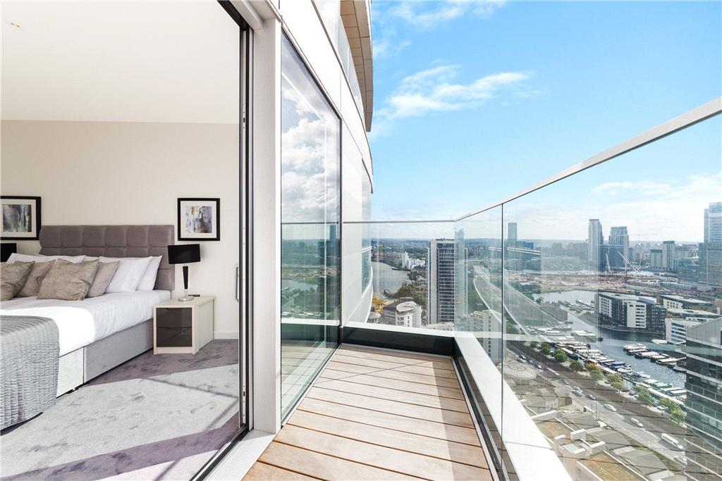 1 Bedroom Flat for sale in Charrington Tower, 11 Biscayne Avenue, Isle Of Dogs, London, E14