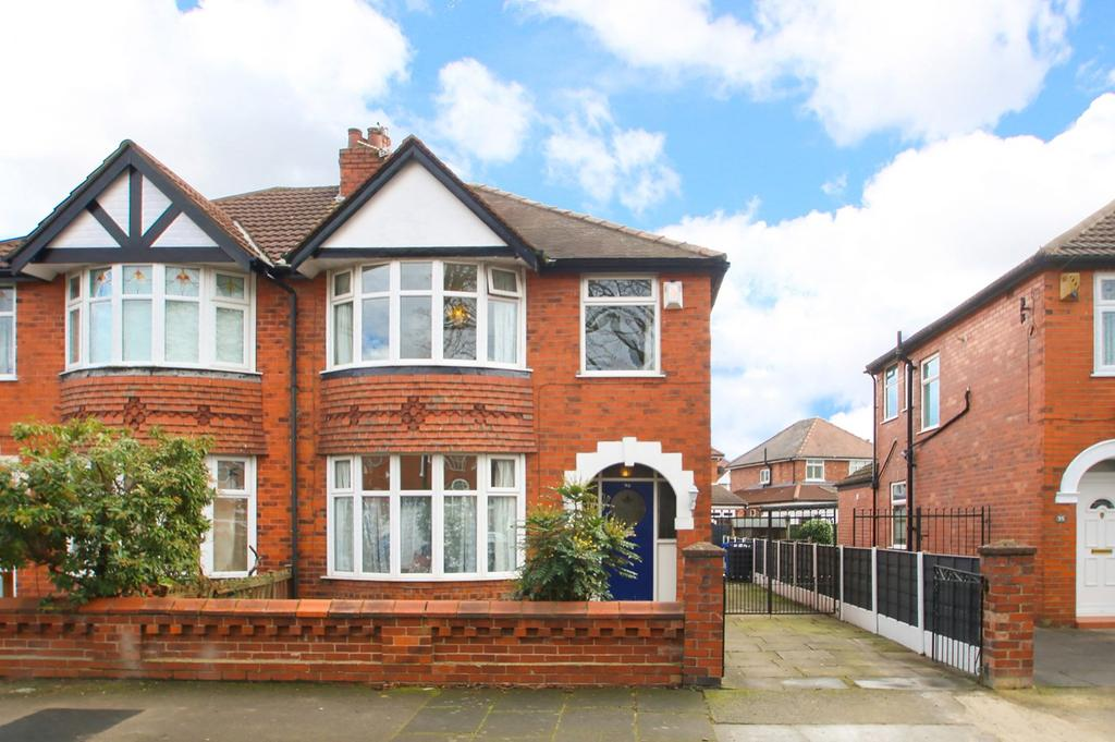 3 Bedrooms Semi Detached House for sale in Manor Road, Stretford, Manchester, M32