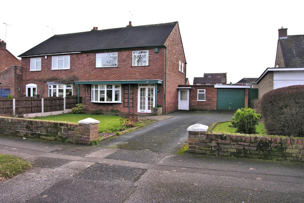 3 Bedrooms Semi Detached House for sale in BURTON MANOR ROAD, BURTON MANOR, STAFFORD ST17